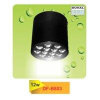 Đèn led downlight gắn nổi Duhal DF-B803