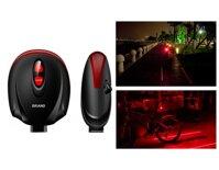 Đèn led laser cốt yên xe đạp Brand