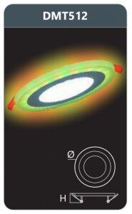 Đèn led panel Duhal DMT512
