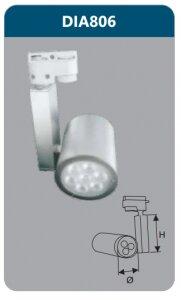 Đèn led thanh ray Duhal DIA806 7W