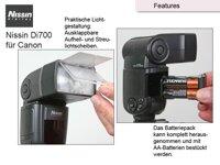 Đèn Nissin Di700 For Canon/Nikon