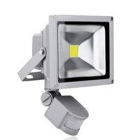 Đèn pha LED cảm ứng chống trộm Rinos RNPA620 20W