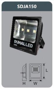 Đèn pha led Duhal SDJA150 150W