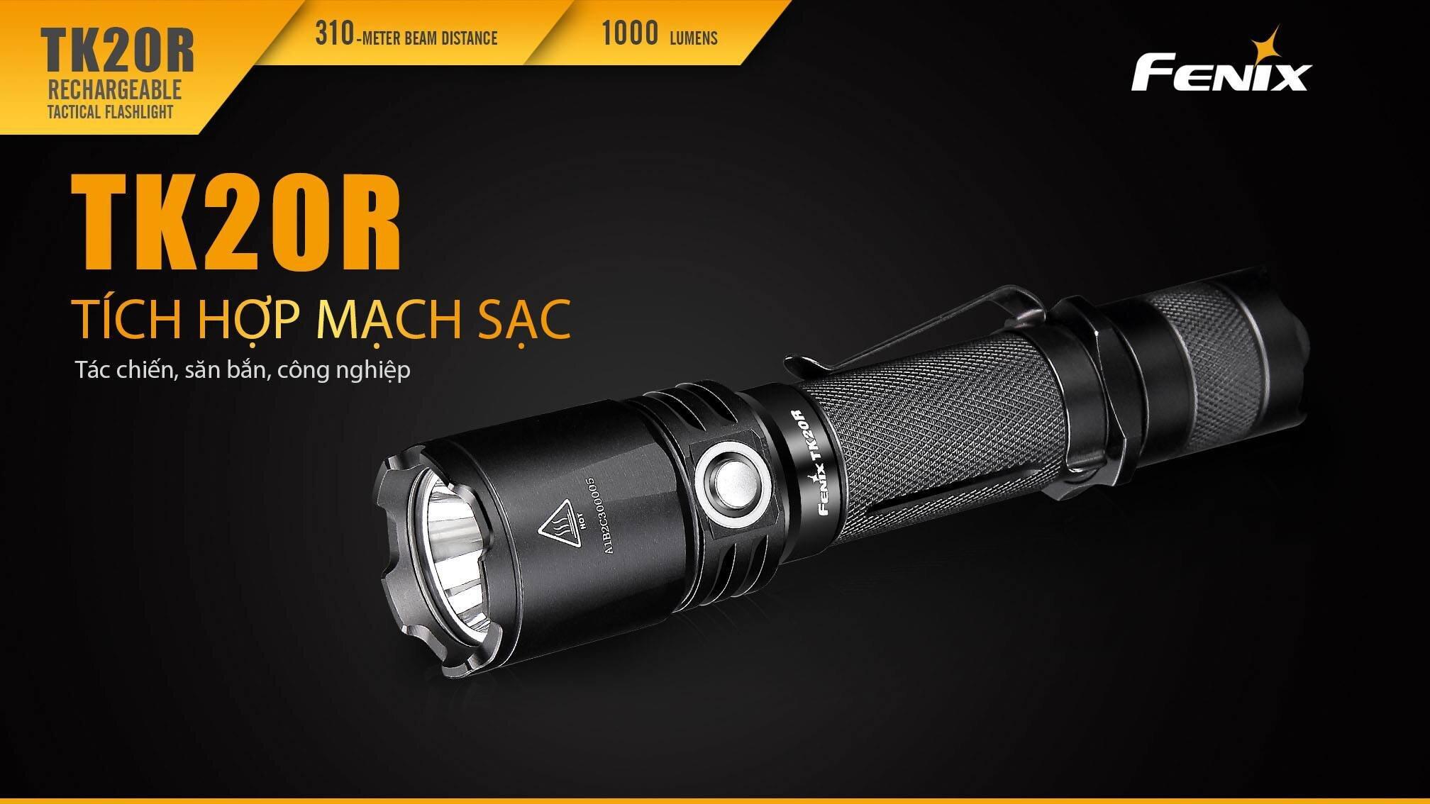 Đèn pin Fenix TK20R