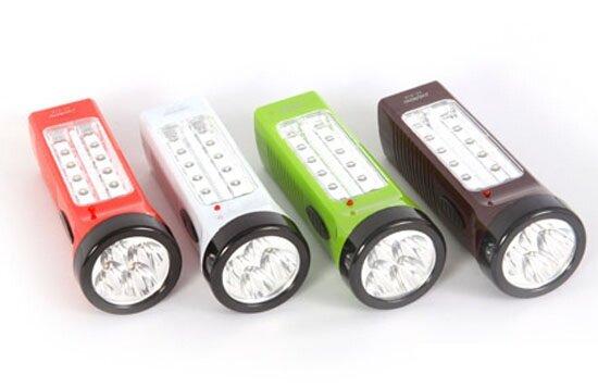 ĐÈN PIN LED SẠC 2 TRONG 1