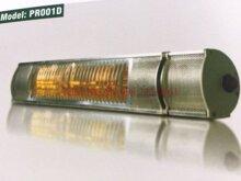 Đèn sưởi Braun Protex PR001D - Đèn sưởi hồng ngoại không chói mắt