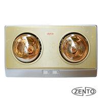 Đèn sưởi nhà tắm 2 bóng Zento ZT2