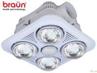 Đèn sưởi nhà tắm Braun BU04