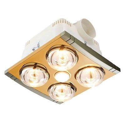 Đèn sưởi nhà tắm Braun KP04G - 4 bóng