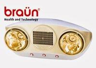 Đèn sưởi nhà tắm Braun BU02PG2