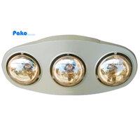 Đèn sưởi nhà tắm Duraqua D3G - 3 bóng