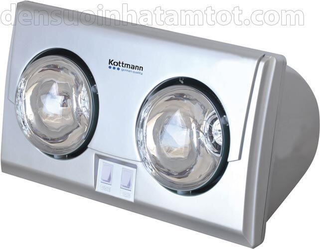 Đèn sưởi nhà tắm Hans Kottmann K2B-S