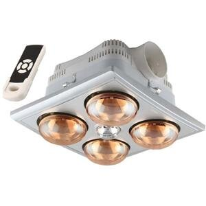 Đèn sưởi nhà tắm Heizen HE4B-R (HE-4BR) - có điều khiển