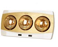 Đèn sưởi nhà tắm Kohn KF03G - 3 bóng