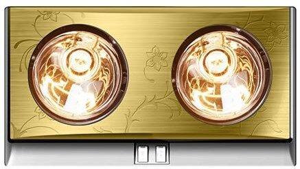 Đèn sưởi nhà tắm Kottmann K2BG (K2B-G) - 2 bóng