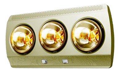 Đèn sưởi nhà tắm Kottmann K3BG (K3B-G) - 3 bóng