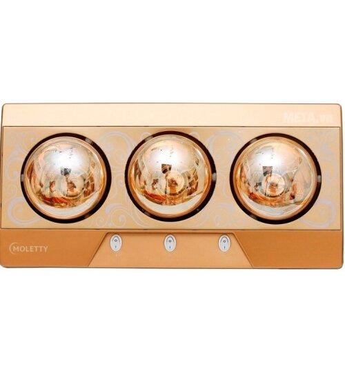 Đèn sưởi nhà tắm Moletty M-03TH