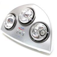 Đèn sưởi nhà tắm Nonan DS16 (DS-16) - 3 bóng