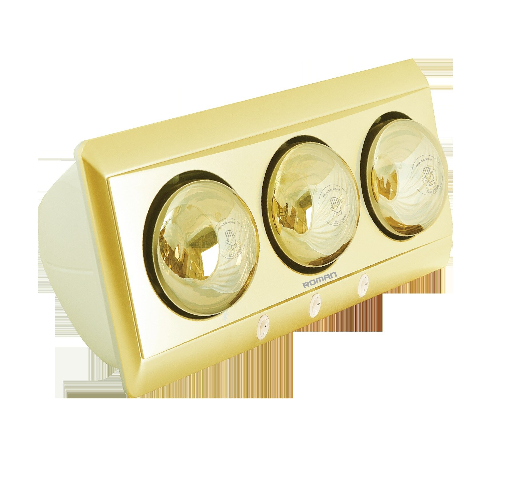 Đèn sưởi nhà tắm Roman RDS-G301
