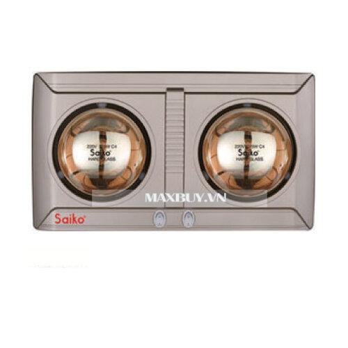 Đèn sưởi nhà tắm Saiko BH-551H - 2 bóng