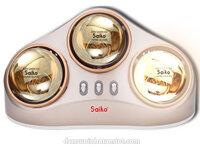 Đèn sưởi nhà tắm Saiko BH-735H - 3 bóng vàng