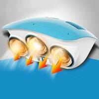 Đèn sưởi nhà tắm Zento ZT3-Gold - 3 bóng