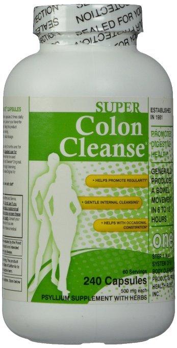 Detox làm sạch đường ruột Super Colon Cleanse – 240 viên