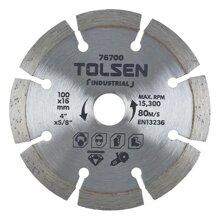Đĩa cắt gạch Tolsen 76700 (100 x 16 mm)