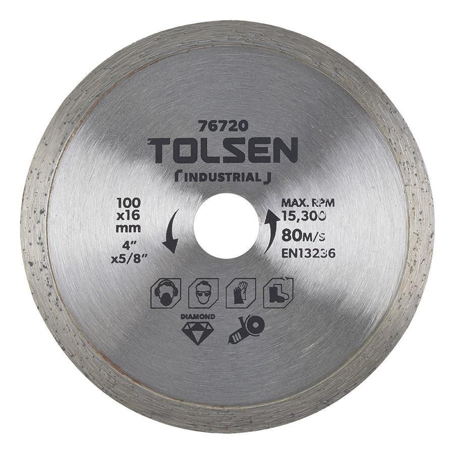 Đĩa cắt gạch Tolsen 76720 (100 x 16 mm)