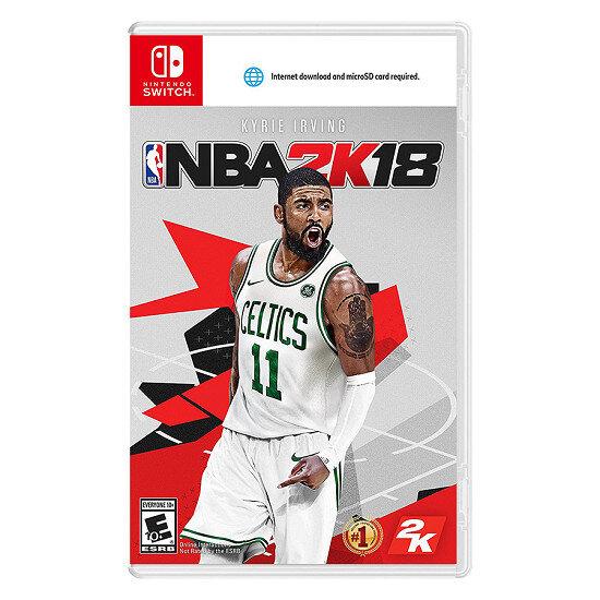 Đĩa game NBA 2K18 - Nintendo Switch