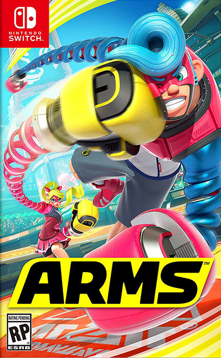 Đĩa Game Nintendo Switch Arms