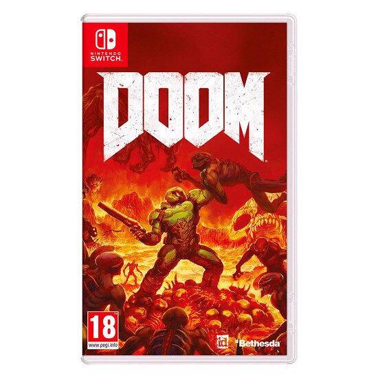 Đĩa Game Nintendo Switch Doom