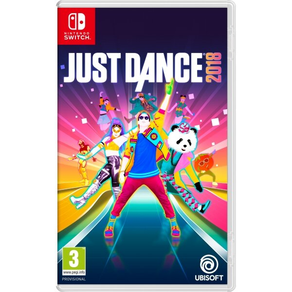 Đĩa game Nintendo Switch Just Dance 2018