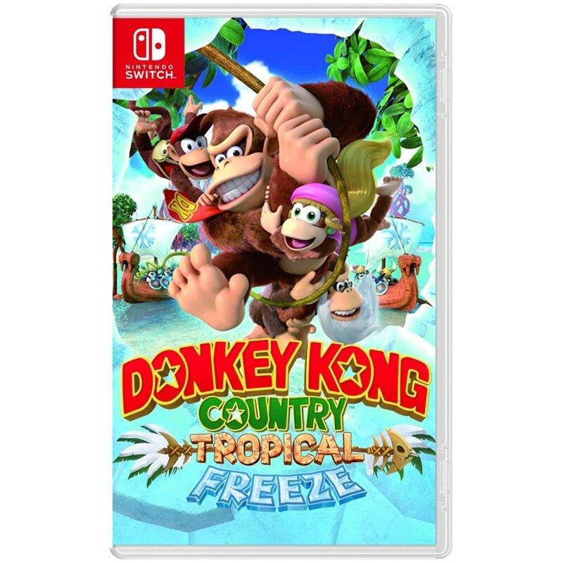 Đĩa game Nintendo Switch Donkey Kong Country
