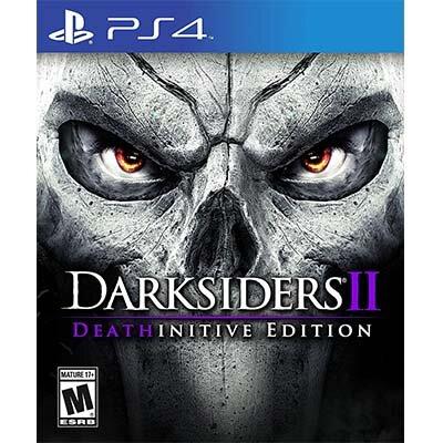 Đĩa game PS4 Darksiders II hệ US
