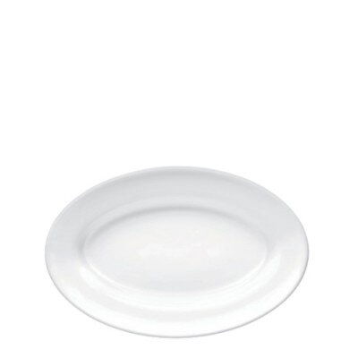 Đĩa thủy tinh ovan Performa - 22 cm