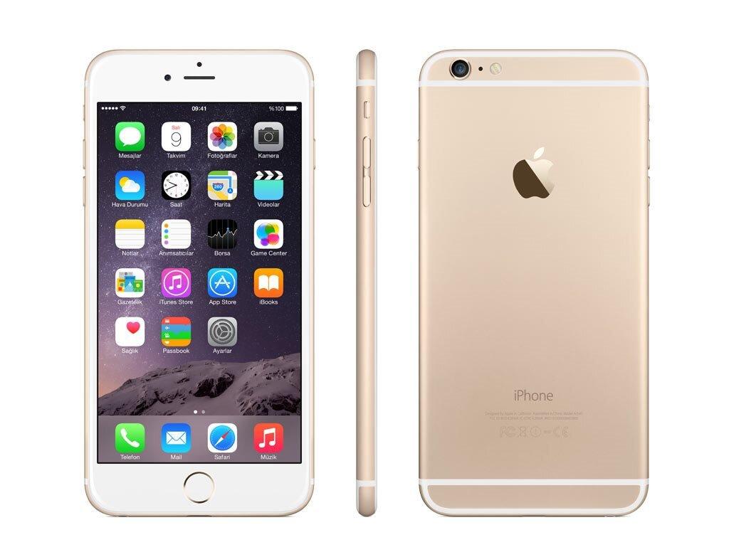 Điện thoại Apple iPhone 6 Plus - 16GB, màu Gold