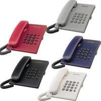 Điện thoại cố định Panasonic KX-TS500MX - màu đen/ trắng/ xám/ xanh/ đỏ