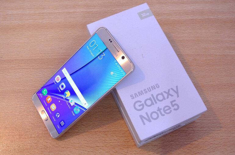 Điện thoại di động Samsung Galaxy Note 5 - 2 Sim