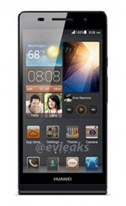 Điện thoại Huawei Ascend P6 - 8GB, 2 sim