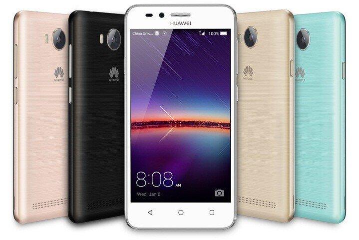 Điện thoại Huawei Y3II - RAM 1GB, 4.5 inches