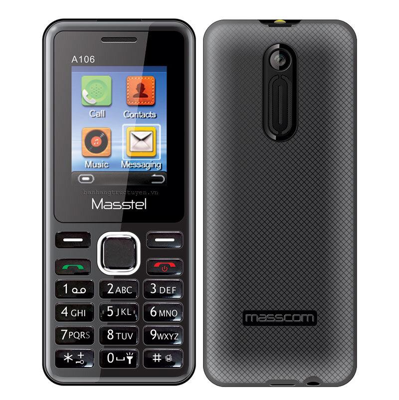 Điện thoại Masstel A106 - 2 sim