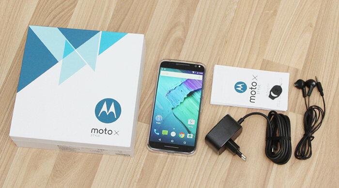 Điện thoại Motorola Moto X Style 32GB - màu đen/ trắng