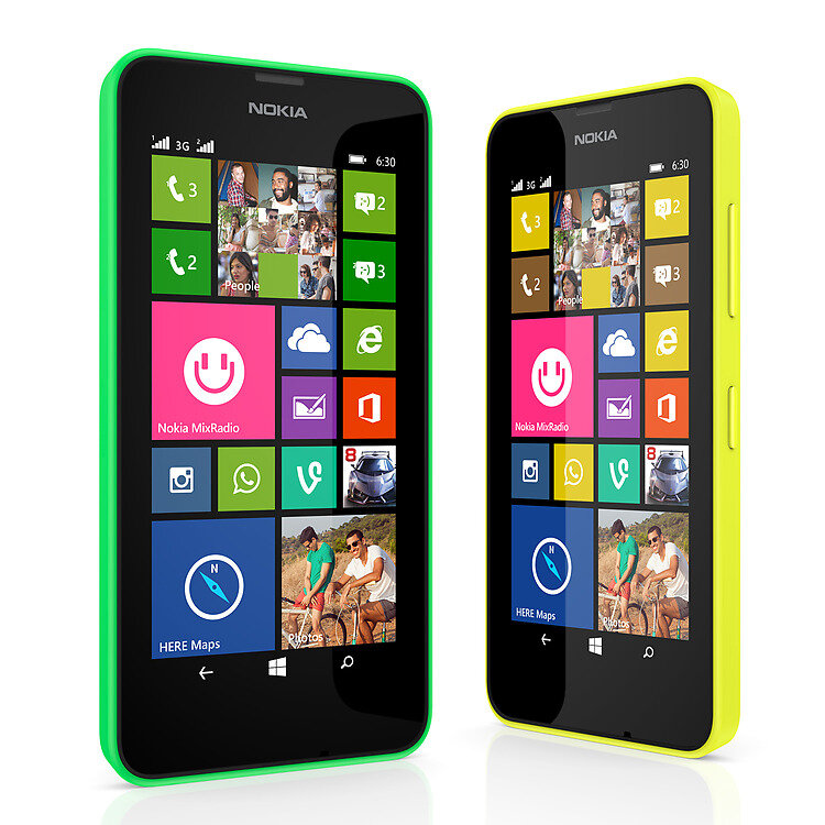 Điện thoại Nokia Lumia 630 - 8GB, 2 sim