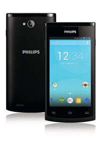 Điện thoại Philips S308 - 4GB, 2 sim