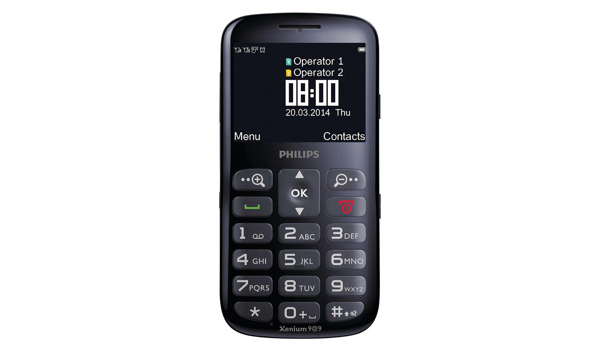 Điện thoại Philips Xenium X2566 - 2 sim