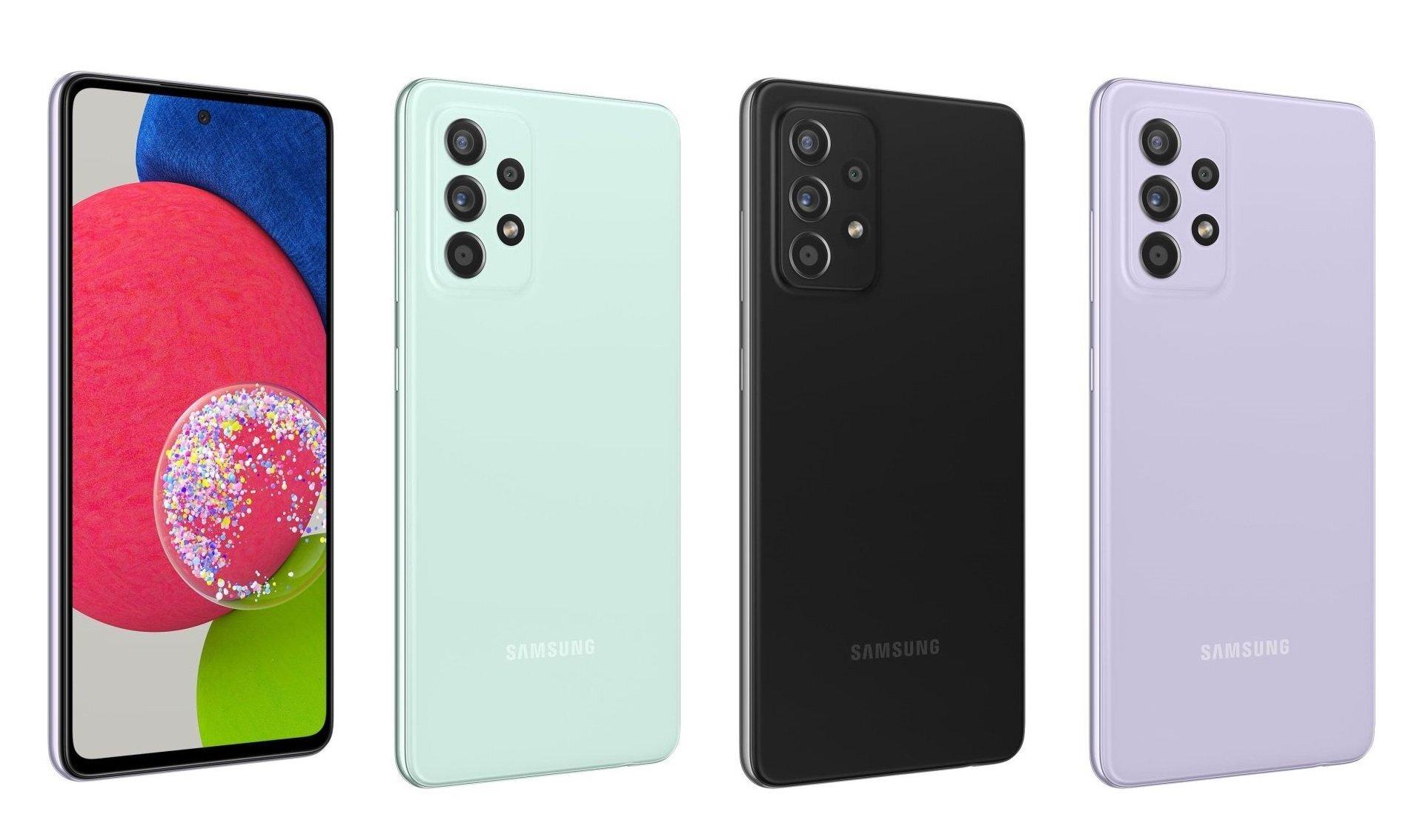 Điện thoại Samsung Galaxy A52s 5G – 6GB/128GB, 6.5 inch
