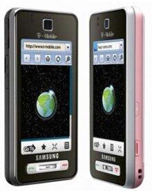 Điện thoại Samsung T919 Behold Light rose