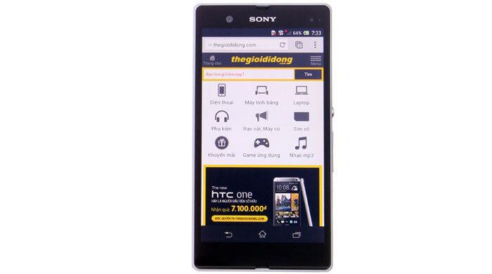 Điện thoại Sony Xperia Z C6602 - 16 GB