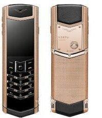 Điện thoại Vertu Signature S Clous De Paris Stainless Steel - 4GB